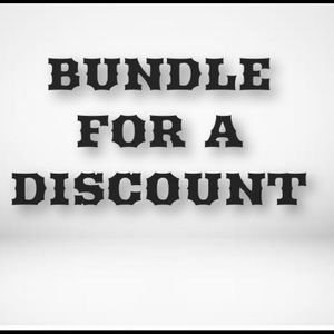 Accessories - DISCOUNTS ON ALL BUNDLES!!!